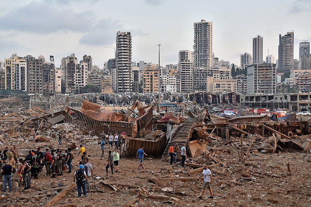 """Double Blast in Beirut - Terrifying Scenes; 'Reminded me of """"Hiroshima and Nagasaki""""--Says City Governor"""