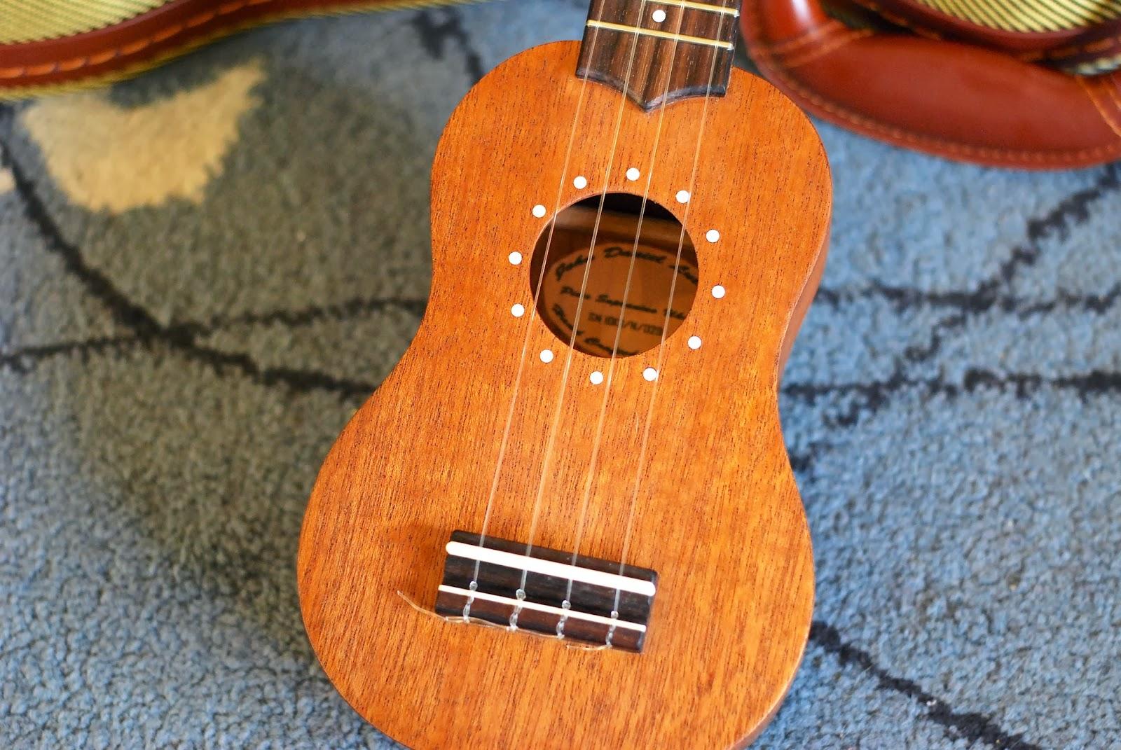 John Daniel Pixie Sopranino ukulele body