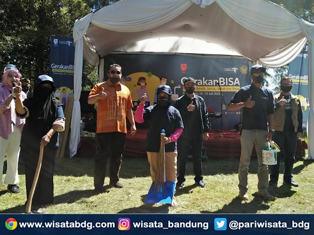 Kemenparekraf Gelar Gerakan BISA dan BALASA di Ranca Upas, Ciwidey