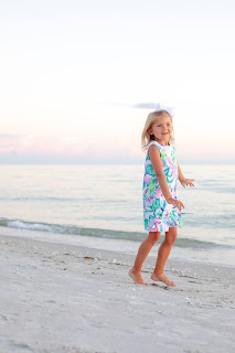 Kids playing on the beach on Captiva Island