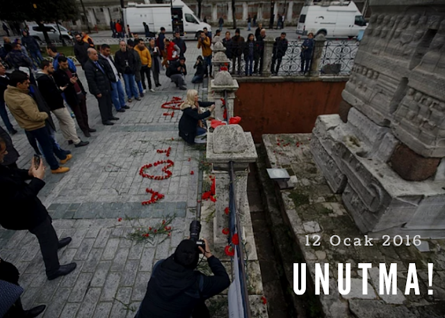 12 Ocak 2016 - Sultanahmet Saldırısı