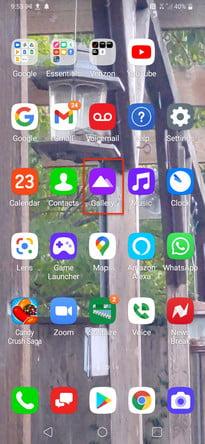 كيفية حذف واستعادة الصور على جهاز Android