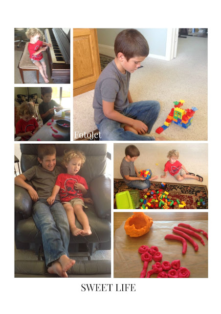 grandsons summer activities