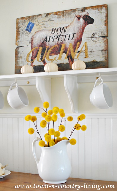 Adventures In Decorating Our 2015 Fall Kitchen: Ten Fabulous Fall Decor Ideas