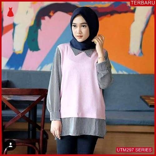 UTM297N73 Baju Nina Muslim Blouse UTM297N73 129   Terbaru BMGShop