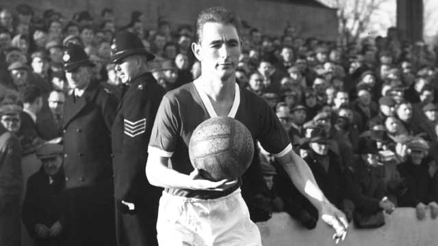 Brian Clough como futbolista del Middlesbrough FC
