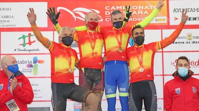 El Campeonato de España de Ciclocross 2021 coronó a los másters
