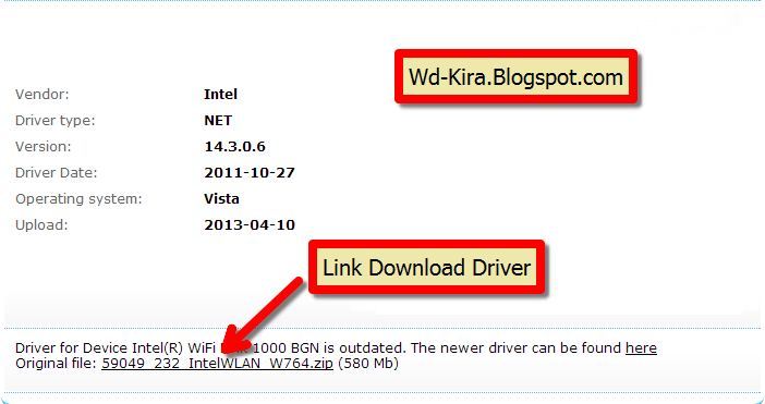 Cara Mengatasi Driver laptop yang tidak kompatibel, Wd-Kira, cara download driver 100% kompatibel, download driver terbaru, free download driver, how to download driver computer, driver yang pasti kompatibel dengan laptop