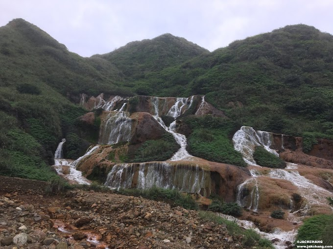 旅|新北景點-黃金瀑布