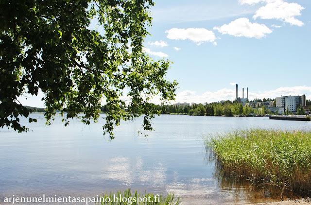 Kuopio, ympäristö, Kallavesi, luonto, kaupunki, opiskelu