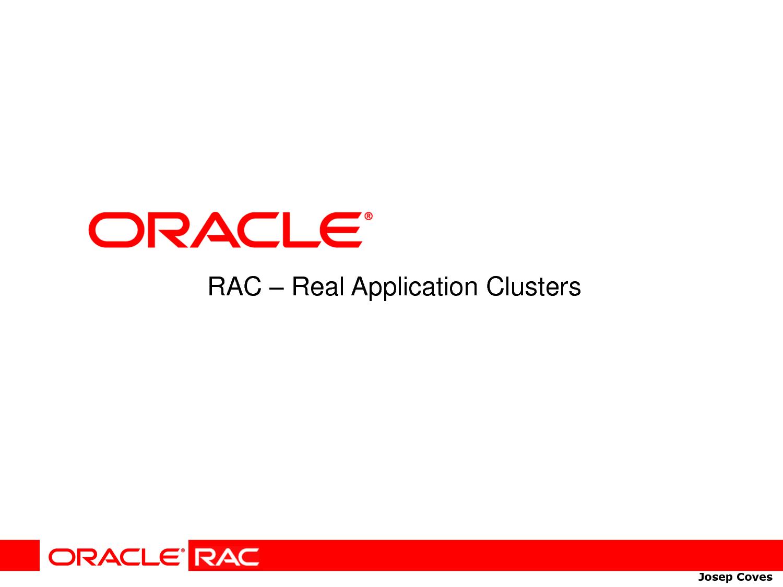 Oracle RAC | Oracle RAC Online training | BEST ONLINE