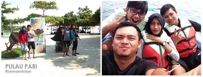 Wisata ke Pulau pari Kep Seribu