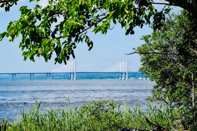 The Piermont Pier, in Piermont, NY, is an easy day trip from New York City.   Ms. Toody Goo Shoes
