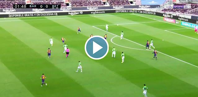 Barcelona vs Real Betis Live Score