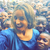 Check out Ciara's selfies with these students in Lagos (photos)