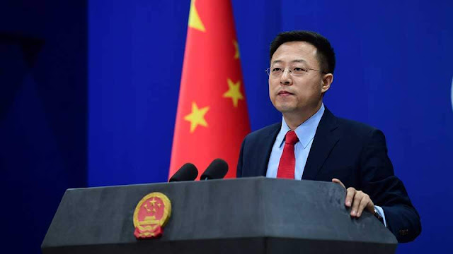 China Foreign Ministry spokesperson Zhao Lijia. PHOTO | XIHUA