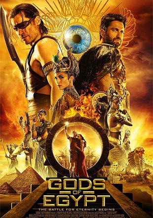 Gods of Egypt 2016 BRRip 720p Dual Audio In Hindi English ESub