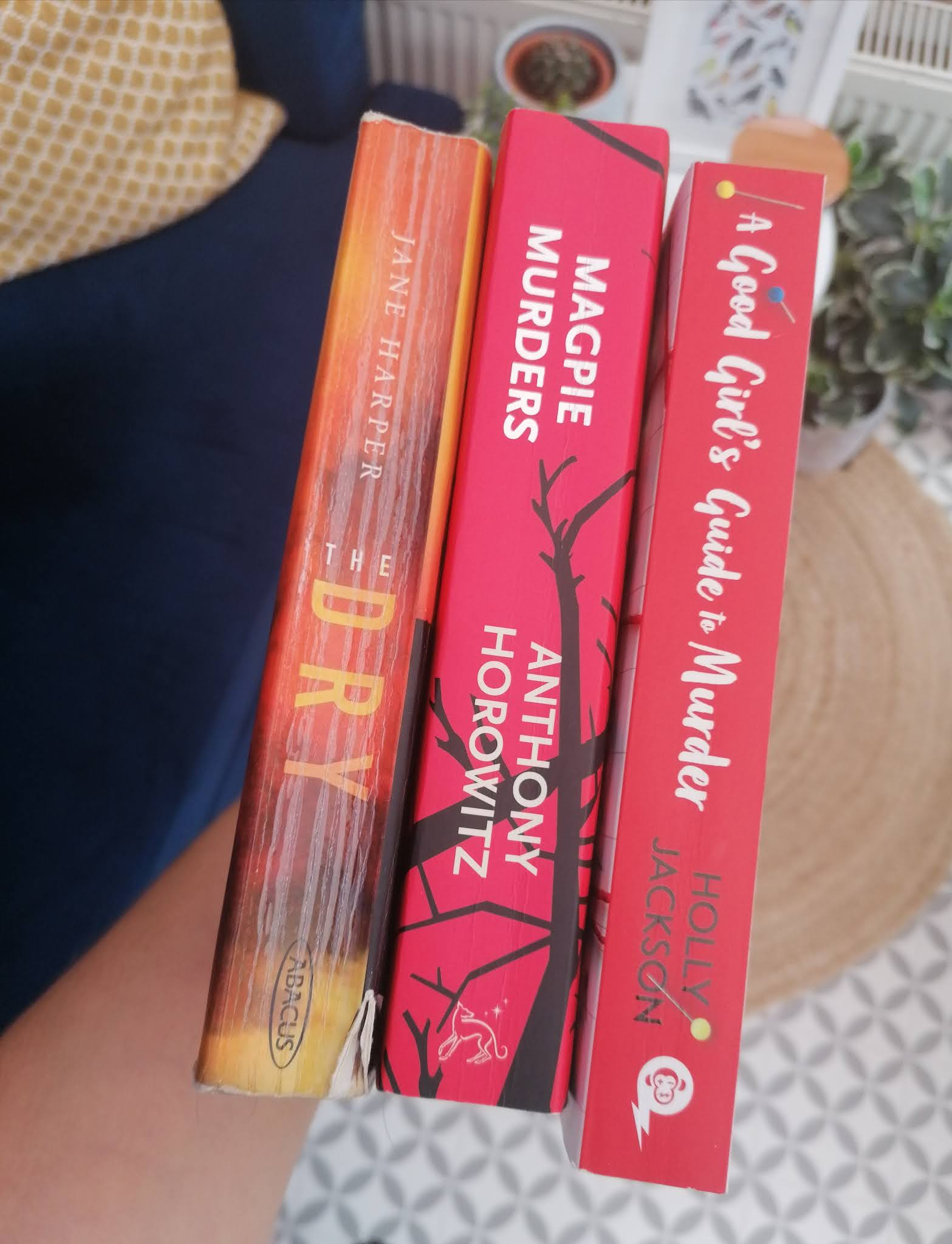 Three thriller books I have read recently