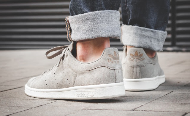 adidas Stan Smith Grey Suede