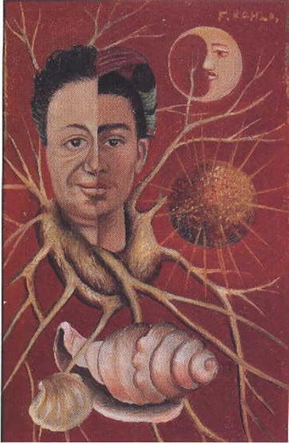 Фрида Кало - двойной портрет. Диего и Фрида. 1929-1944
