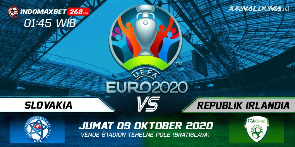 Prediksi Slovakia vs Republik Irlandia 09 Oktober 2020 Pukul 01:45 WIB