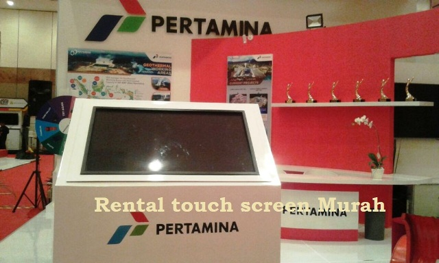 Harga sewa tv  touchscreen