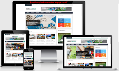 MagNews v1.1 Responsive Blogger Templates Free Download
