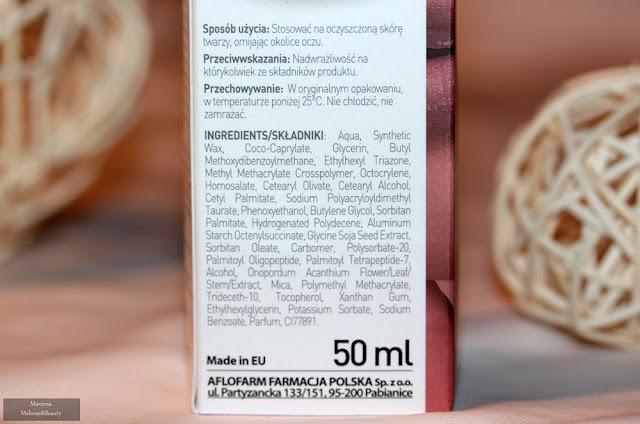 Regenerum regeneracyjne serum do twarzy skład