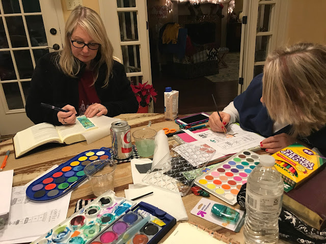 FREE Bible Journaling Template - Craft with Christie