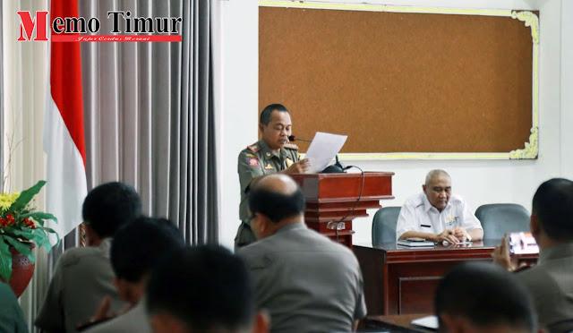 Rapat Koordinasi peningkatan kerjasama pemeliharaan stabilitas keamanan dan ketertiban umum