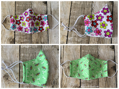 Fabric Face Masks ©BionicBasil® The Pet Parade 353