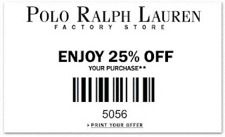 Ralph Lauren Printable Coupons November 2014