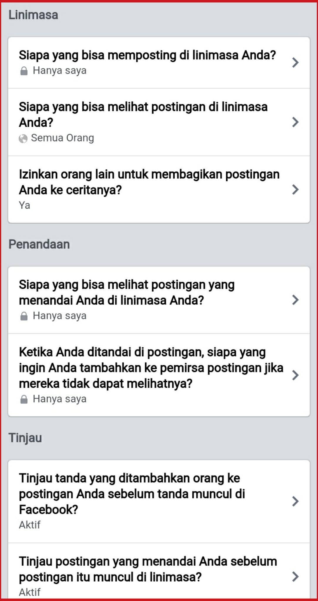 Cara blokir gambar yang menandai di akun fb