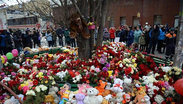 У родителей детей, сгоревших в Кемерово, берут подписку о неразглашении