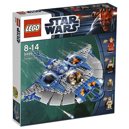 jual lego murah indonesia lego star wars  gungan sub 9499
