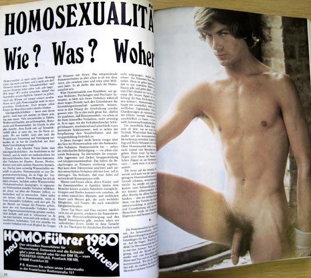 German Gay Magazine 89