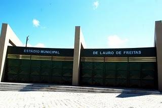 Resultado de imagem para estádio municipal de lauro de freitas lauro de freitas - ba