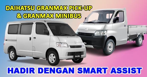Daihatsu Granmax Pick-up dan Granmax Minibus