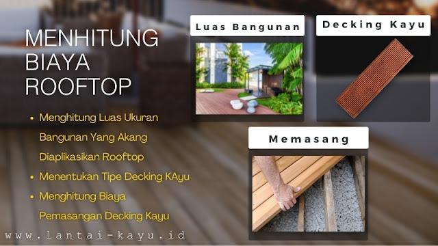 menghitung biaya membangun rooftop