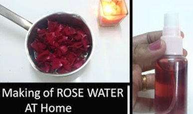 ROSE WATER Making at Home | Simple way