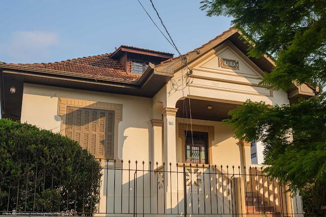 Casa na Rua Saldanha Marinho - detalhes