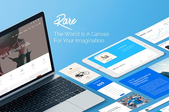 Rare Multi Purpose Responsive WordPress Themes