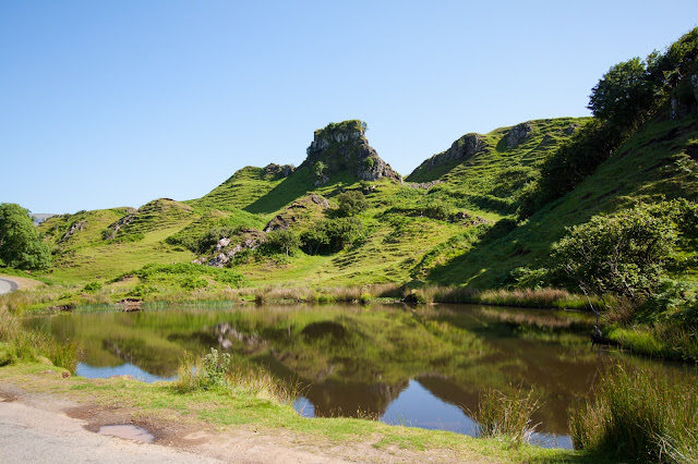 Trotternish peninsula-Fairy glen