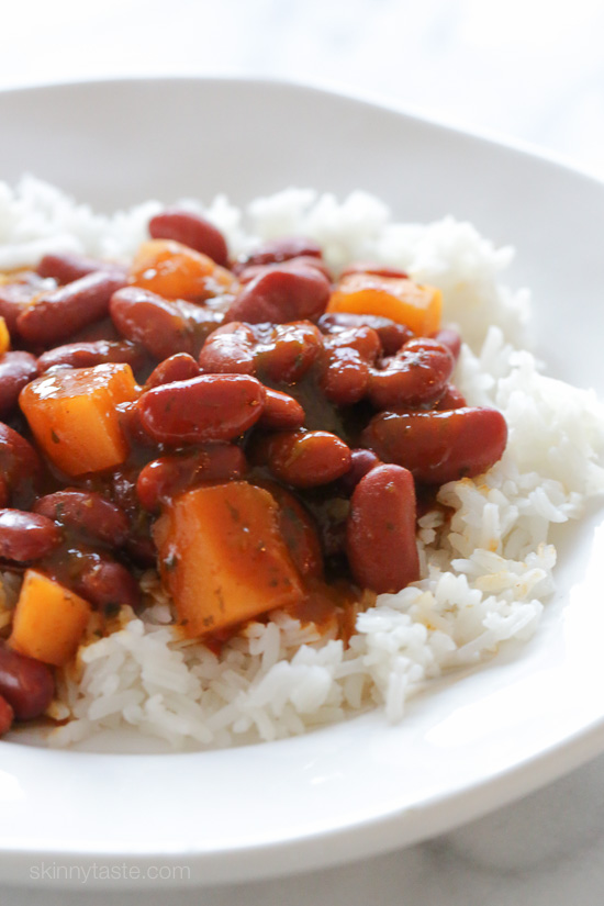Quick Puerto Rican Style Beans – ready in about 25 minutes!