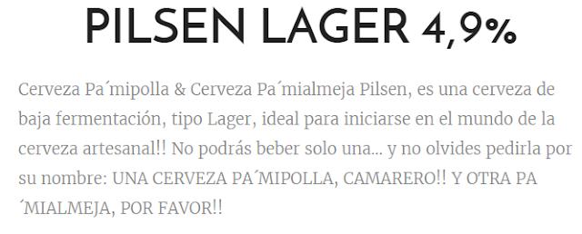cerveza pamipolla mensaje