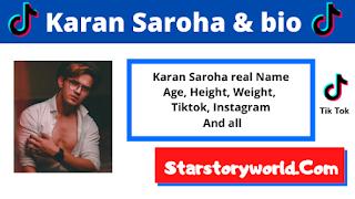 Karan Saroha Wiki