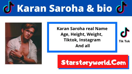 Karan Saroha [Tiktok Star] Wiki, Biography, Age, Girlfriend ,Family, Facts and More