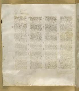 Codex Sinaiticus Gospel of Mark