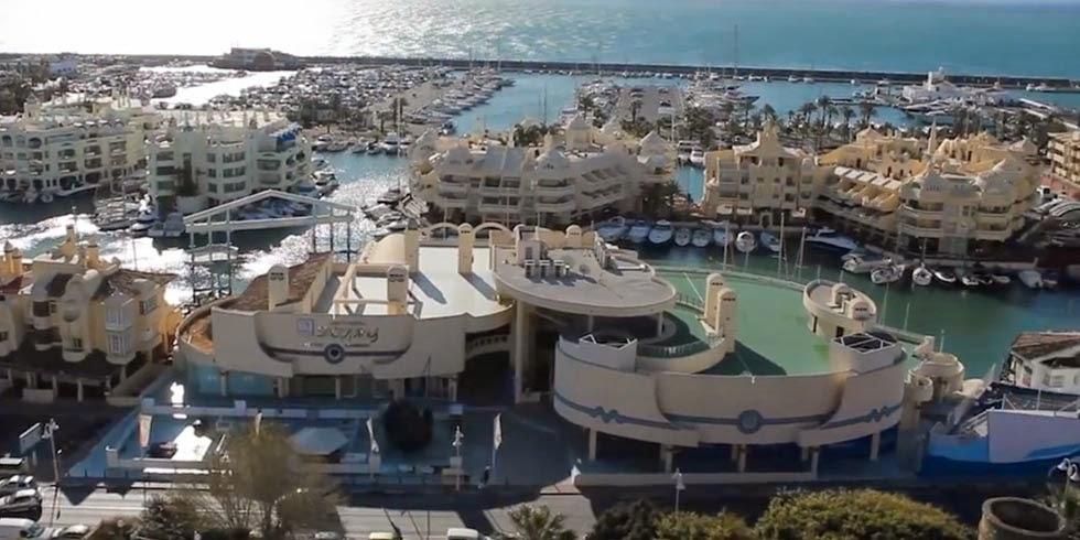 Puerto Marina en Benalmadena, gastronomía y shopping