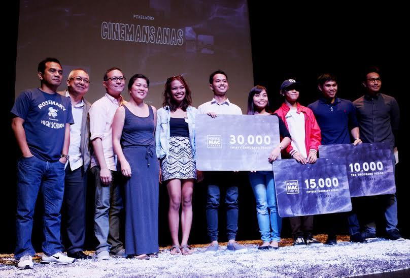 Power Mac Center Pixelworx holds 'Cinemansanas' awards